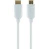 Belkin High Speed HDMI kábel Ethernettel és aranyozott érintkezőkkel, 5 m, fehér, Belkin