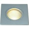 Conrad Kültéri beépíthető lámpa, MR16, szögletes, nagyfeszültséű halogén, fehér, G5.3, SLV FGL Outdoor 111121