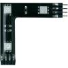 Conrad Összekötő, RGB LED-del, fekete, 3 darabos készlet, Paulmann YourLED 90º