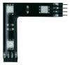 Conrad Összekötő, RGB LED-del, fekete, 3 darabos készlet, Paulmann YourLED 90º világítás