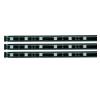 Conrad LED szalag készlet, 3x97 cm, fekete, fixen beépített RGB LED-del, Paulmann YourLED Stripe 70214 világítás