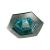 Conrad Beépíthető lámpa, halogén fényforrás, vas színű, GU5.3, Paulmann Hexa 5754
