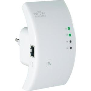 Conrad WLAN WIFI repeater, jelismétlő konnektorba, Conrad