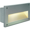 Conrad Kültéri beépíthető lámpa, E14, gyertya forma fényforrás, ezüst-szürke, SLV Brick Downunder 229062