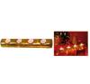 Mécsestartó dísz (TLH 33/YE) karácsonyi asztali dekoráció