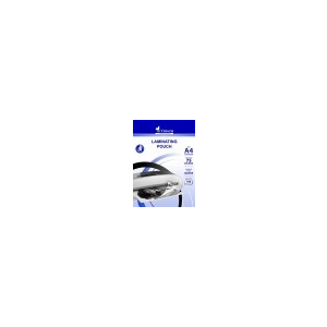 VICTORIA Meleglamináló fólia, 75 mikron, A4, fényes, VICTORIA