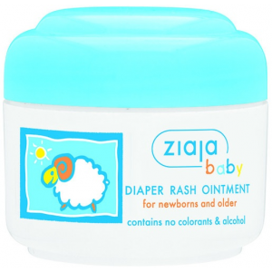 Ziaja Ziaja Baba bőrvédő popsikrém újszülött kortól 50ml