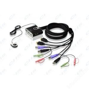 ATEN KVM Switch 2PC HDMI+audio