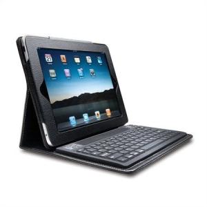 """Billentyűzet táblagéphez, műbőr tokban, Bluetooth-os, iPad készülékhez, KENSINGTON """"KeyFolio..."""