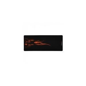 Sharkoon pad - Fireound (Billentyűzet+ számára; Gumis alsó rész; 2 5mm magas; 855x345mm; ; láng minta)