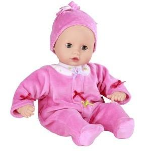 Götz Muffin GÖTZ baba, kék szemű, haj nélküli, 33 cm magas