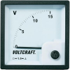 Conrad Analóg beépíthető táblaműszer, beépíthető voltmérő 15V Voltcraft AM 72x72