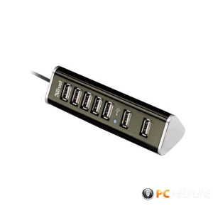 Trust Pyramid 7 portos USB HUB