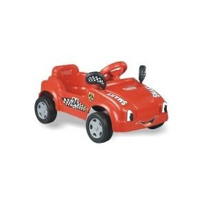 Dolu: Pedálos bébi autó (piros)
