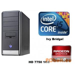 Gamer PC: Intel Core i5 3550 Ivy Bridge CPU! HD7750 1GB vga