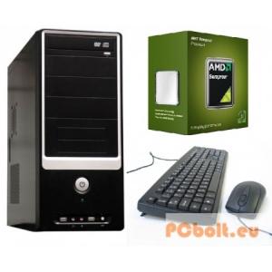 Komplett számítógép: AMD Sempron 2 magos processzorral 2.5Ghz