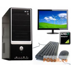 Komplett számítógép: AMD Sempron CPU + 18,5&quotTFT monitor!