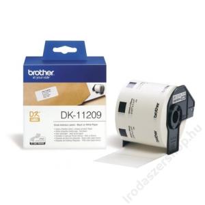 Brother Papír címke, QL nyomtatóhoz, 62 x 29 mm, BROTHER (QPTDK11209)