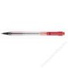 Pilot Golyóstoll, 0,27 mm, átlátszó tolltest, PILOT BP-S Matic, piros (PBPSMGP)