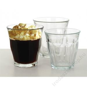 Kávéspohár, 24 cl, üveg, Retro (KHKE061)
