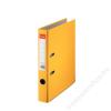 ESSELTE Iratrendező, 50 mm, A4, PP/karton, élvédő sínnel, ESSELTE Economy, sárga (E81191)