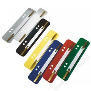 Leitz Lefűzőlapocska, PP, LEITZ, sárga (E1430606)
