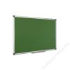 Krétás tábla, zöld felület, nem mágneses, 120x240 cm, alumínium keret, (VVK07)