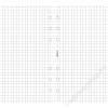 FILOFAX Kalendárium betét, jegyzetlap, personal méret, kockás, FILOFAX, fehér (NFX132905)