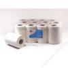 Kéztörlő, tekercses, 2 rétegű, fehér, 255 lap, Optimum (KHH363)