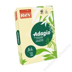 REY Másolópapír, színes, A4, 80 g, REY Adagio, pasztell sárga (LIPAD48PS)
