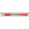 UNI Golyóstoll, 0,3 mm, nyomógombos, UNI SN-101, piros (TU11021)