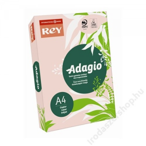 REY Másolópapír, színes, A4, 80 g, REY Adagio, pasztell rózsaszín (LIPAD48PR)