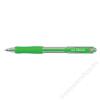 UNI Golyóstoll, 0,2 mm, nyomógombos, UNI SN-100, zöld (TU10041)