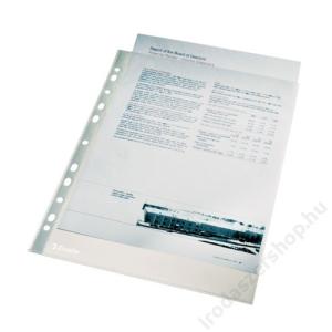 "ESSELTE Genotherm, lefűzhető, A4, 40 mikron, narancsos felület, ESSELTE ""Standard"""