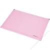 PANTA PLAST Irattartó tasak, A4, PP, cipzáras, talpas, PANTA PLAST, pasztell rózsaszín (INP4103813)