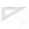 KOH-I-NOOR Háromszög vonalzó, műanyag, 60 °, KOH-I-NOOR (TKOH7447501)
