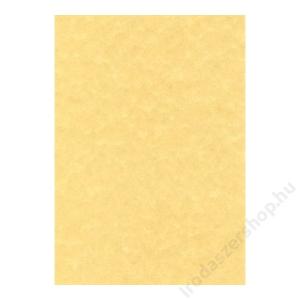 APLI Előnyomott papír, A4, 95 g, pergamen hatású, APLI, arany (LCA11955)