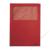 Leitz Mappa, ablakos, karton, A4, LEITZ, piros (E39500325)