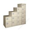 VICTORIA Függőmappatároló fémszekrény, 3 fiókos, VICTORIA, bézs (BICCA21)