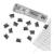 RAPESCO Supaclip kapocsadagoló, RAPESCO, ezüst kapcsokkal (IRRC4025SS)