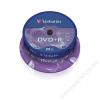 Verbatim DVD+R lemez, AZO, 4,7GB, 16x, hengeren, VERBATIM (DVDV+16B25)