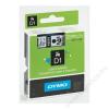 DYMO Feliratozógép szalag, 9 mm x 7 m, DYMO D1, kék-fekete (GD40916)