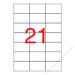 APLI Etikett, univerzális, 70x42,4 mm, APLI, 2100 etikett/csomag (LCA3136)