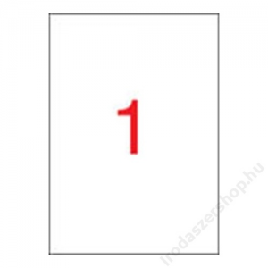 APLI Etikett, univerzális, 210x297 mm, APLI, 500 etikett/csomag (LCA1788)