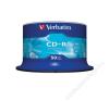 Verbatim CD-R lemez, 700MB, 52x, hengeren, VERBATIM DataLife (CDV7052B50DL) írható és újraírható média