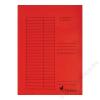 VICTORIA Pólyás dosszié, karton, A4, VICTORIA, piros (IDPI05)
