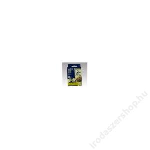 Brother Feliratozógép szalag, 12 mm x 8 m, BROTHER, fehér-kék (QPTTZ233)