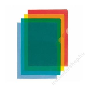 ESSELTE Genotherm, L, A4, 105 mikron, narancsos felület, ESSELTE Standard, kék (E54837)