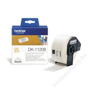 Brother Papír címke, QL nyomtatóhoz, 38 x 90 mm, BROTHER (QPTDK11208)