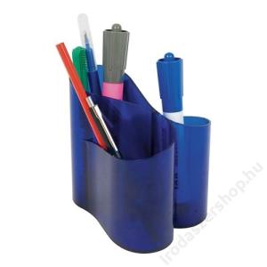 ICO Írószertartó, ICO Lux, áttetsző kék (TICITLUXK)